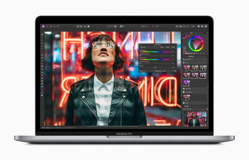 apple macbook pro 13 inch with affinity photo screen 05042020 big large