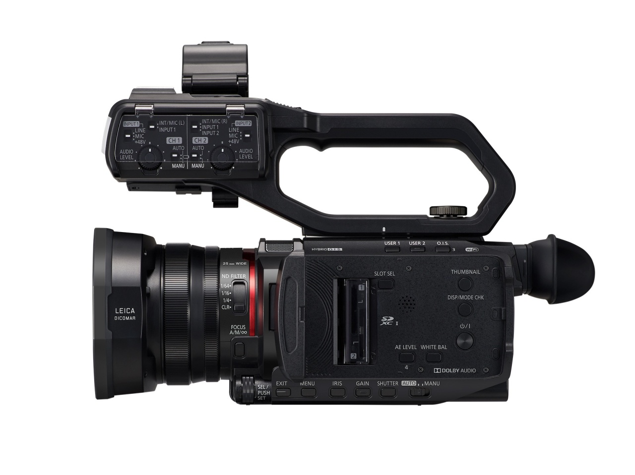 panasonic ag cx10 2