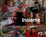 Vodafone cambia nome sul display per ricordare a tutti di restare a casa