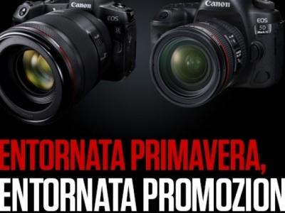 Canon estende al 30 giugno la promozione 'Bentornata Primavera'