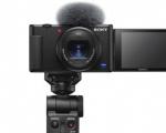 Sony amplia la gamma di soluzioni per i vlogger con la nuova vlog camera ZV-1