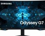 Odyssey G7: il monitor curvo di Samsung dedicato al gaming arriva in Italia