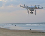 Coronavirus: droni sulle spiagge per il controllo dei vacanzieri