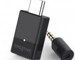 Creative BT-W3, l'audio wireless sempre e ovunque