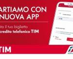 Con l'App Trenitalia si arricchisce l'offerta mobile ticketing di TIM
