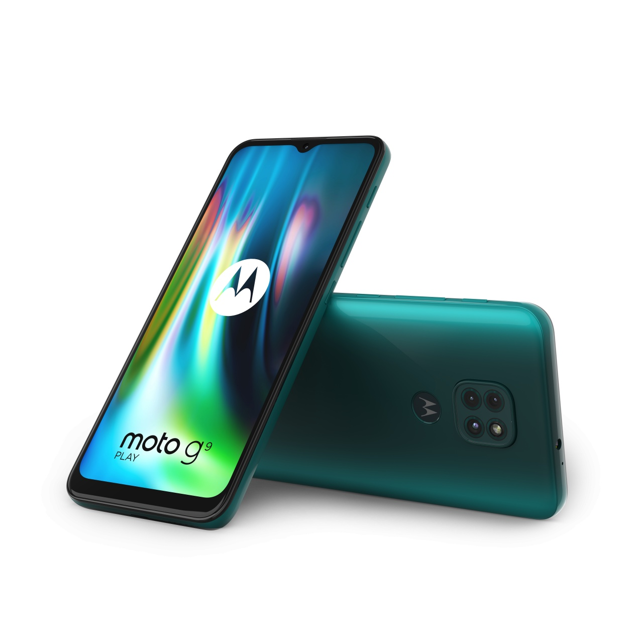 moto g9 play forest green combo