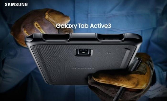 Galaxy Tab Active3, il tablet progettato per resistere in ambienti difficili