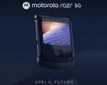 Motorola svela il nuovo razr 5G, un'icona dallo stile unico