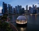 Apple: a Singapore il progetto retail più ambizioso, ispirato al Pantheon di Roma