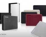 Toshiba rinnova la line-up di hard disk esterni Canvio
