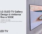 LG: rimborso fino a 500€ con l'acquisto di un TV OLED GX