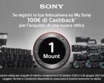 Sony: nuove promozioni Cashback sui prodotti Digital Imaging e Ottiche Welcome-to-α