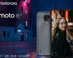 Motorola illumina la notte con il nuovo moto e7