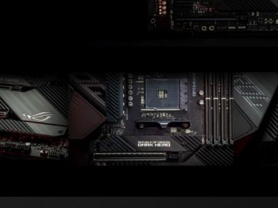 ROG Crosshair VIII Dark Hero e Strix B550-XE Gaming disponibili in Italia