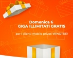 WindTre regala una giornata di internet illimitato