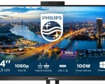 Philips Monitors B Line: monitor con connessione ibrida e webcam Windows Hello