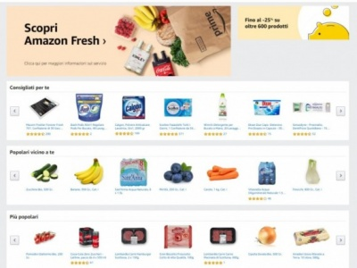 Amazon Fresh è ora disponibile per i clienti Prime anche a Roma