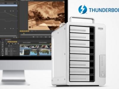 TerraMaster presenta Fast Dual 40 Gbps 8-bay D8 Thunderbolt 3, pensato per i video 4K