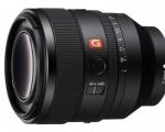 Sony presenta il nuovo obiettivo FE 50 mm F1.2 G Master per il sistema Alpha