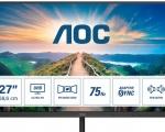 AOC annuncia la nuova serie di monitor V4: design sottile, pannelli IPS e alta risoluzione
