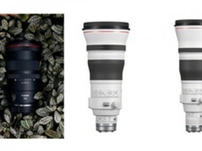 Canon presenta tre nuovi obiettivi RF