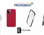 Stop ai batteri: arrivano 4 cover Cellularline con tecnologia Microban