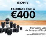 Sony: torna la promozione Cashback sui prodotti di Digital Imaging