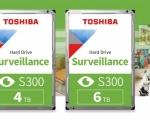 Toshiba potenzia la sua serie di hard disk per la videosorveglianza con i nuovi modelli da 4 e 6TB