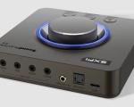 Sound Blaster X4: la scheda audio tuttofare