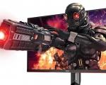 AOC presenta il nuovo monitor gaming 4K con un refresh rate da 144 Hz e 1 ms
