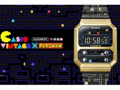 Orologio Casio A100 in versione Pac-Man vintage