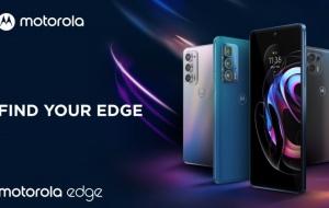 Motorola presenta la nuova family top di gamma edge20