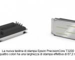 Epson: nuove testine di stampa PrecisionCore