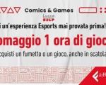 """Lo Spazio Feltrinelli Comics & Games riapre le porte dell' """"Area Gaming"""""""