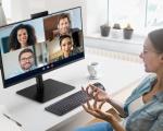 Samsung presenta Webcam Monitor S4, con webcam, altoparlanti e microfono integrati