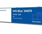 Western Digital lancia la nuova unità WD Blue SN570 NVMe SSD