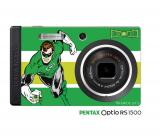 "Disponibile la PENTAX Optio RS1500 ""Green Lantern"""