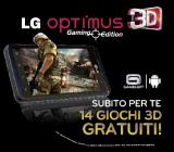 LG Optimus 3D Gaming Edition per giocare gratis in 3D