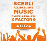 Wind lancia All Inclusive Music X Factor Edition