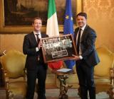 Mark Zuckerberg incontra Matteo Renzi